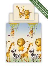 Bettwäsche Set 3 teilig für Kinderzimmer mit Farbauswahl