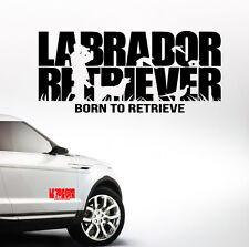 AWILTEXT Auto Aufkleber LABRADOR RETRIEVER Jagd Hunde WILSIGNS Siviwonder