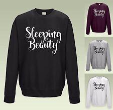 Sleeping Beauty Sweatshirt JH030-Cool Pull étudiant Pull funny sleeping