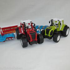 Tracteur Machine Ferme Bulldog Plough Semoir À Mouler La Broche Jouet Enfants