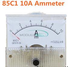 Analog Panel AMP Meter Voltmeter Gauge 85C1 DC 0-30V/50V 0-5A/10A GB/T7676-98