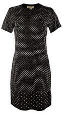 Michael Kors Women's Mini-Studded Cotton T-Shirt Dress