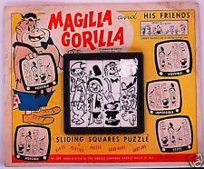 MAGILLA GORILLA & HIS FRIENDS ROALEX SLIDE PUZZLE MOC