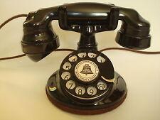 Antique Original 1920s  Round Western Electric 102 Telephone Works!