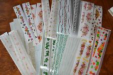 Creative Memories Design Lines Stickers You Choose Borders Ivy Flowers