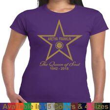 Aretha Franklin Memorial Tribute Respect Tee T Shirt