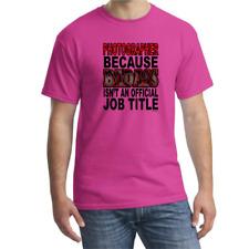 Bayside Made USA T-shirt Photographer Because Badass Isn't An Official Job Title