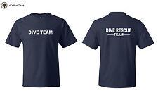 Dive Rescue Team Tees Lifeguard T shirts S-5XL