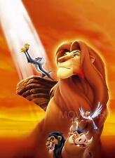 THE LION KING TEXTLESS DISNEY MOVIE POSTER FILM A4 A3 ART PRINT CINEMA 2