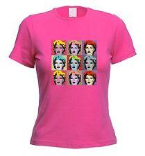 BANKSY KATE MOSS WOMENS T-SHIRT Andy Warhol Graffiti Pop Art -Choice Of Colours