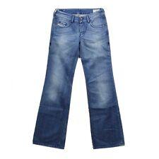 JEANS DIESEL PANTALONI vixy WASH 008lb BLU sparpagliata Pantaloni Jeans Loose Fit 8lb vixi