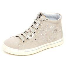E2186 sneaker bimba avorio NERO GIARDINI JUNIOR scarpa shoe kid baby girl