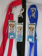 Brand New Aspen Pet Nylon Dog/Cat/Pet Leash VERY DURABLE Multiple Colors & Sizes