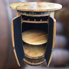 Solido PUB TAVOLO con doppia porta vino rack, scaffali