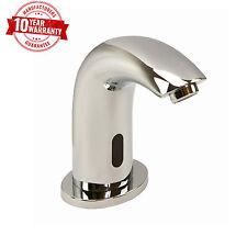 Infrared Sensor Activated Modern Bathroom Wash Basin Monobloc Mixer Tap Chrome