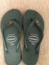 Havaianas Slim WOMENS Triangle Flip Flops Sandals GREEN - All Sizes