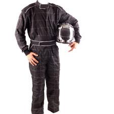 GO Kart Hobby Single Layer Race suit Black- New