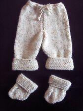 Premature Small Baby Trousers & Socks Knitting Pattern