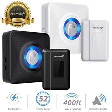 Fosmon 400FT Wireless Door Sensor Alarm Window Security Alert Magnetic Sensor