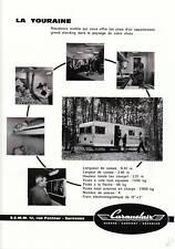 """Publicités Anciennes """" Caravelair  1964 """""""