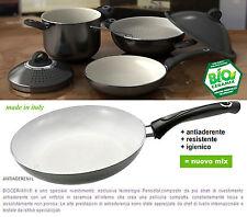 Padella in alluminio d22 fondo in ceramica antiaderente prodotto made in Italy