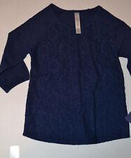 Cherokee Girls Nite Fall Lace Top Shirt SizeS 6/6X NWT