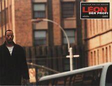 LEON THE PROFESSIONAL  lobby card print - JEAN RENO