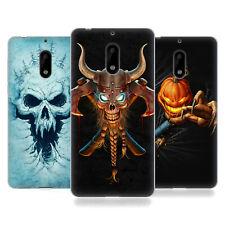 UFFICIALE Christos karapanos HORROR 4 Soft Gel Custodia per cellulari Nokia 1