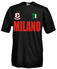T-Shirt manica corta Supporters T50_B Tifosi Milano calcio football fans