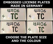 BK License Plate Screw Covers For Dodge Challenger 392 Hemi Charger SRT Hellcat