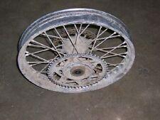 1989 1990 1991 suzuki rm250 back rear wheel rim assembly complete hub  1988