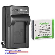 Kastar Battery Wall Charger for Kodak KLIC-7004 & Kodak EasyShare V1073 Camera