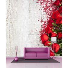 Carta dipinto gigante Bouquet rosa rossi 11038 11038