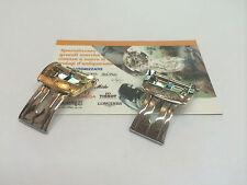 Fibbia deployante Paul Picot 18mm acciaio o laminata originale