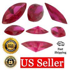 95a1046eb Loose Marquise Cut Ruby CZ Stone Single Red Cubic Zirconia July Birthstone  Shape
