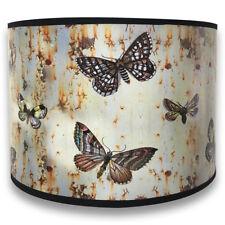 Brown Butterfly Digital Print Lampshade - Custom Made - HBC-8001
