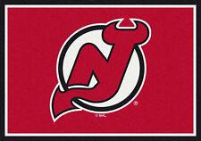 "5x8 Milliken New Jersey Devils Sports NHL Spirit Area Rug - Approx 5'4""x7'8"""