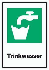Trinkwasser Schild