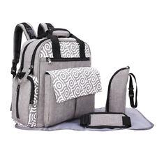 4pcs bébé sac à langer ensemble neuf sacs à couches mignon ensemble sac
