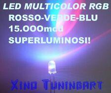 Nr 10 LED RGB VELOCI 5mm 15.000mcd MULTICOLOR TRICOLOR