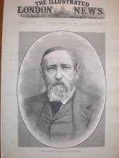 Imprimir el próximo presidente estadounidense Benjamin Harrison 1888