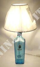 Lampada arredo da tavolo bottiglia vuota Gin Star of Bombay idea regalo riuso