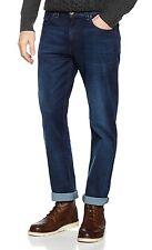 WRANGLER Arizona Stretch NUOVA Linea Uomo Regular Fit jeans comodi interruzione Blu Denim