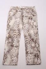Mac Stretchhose Jeans Carrie Pipe 0483-23-041 Schlangenmuster Damen Hose