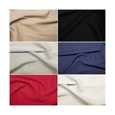 Plain Fashion Crepe Fabric Dress Material (150cm wide)