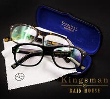 Movie Kingsman The Golden Circle Eggsy Cosplay Eyewear Glasses Eyeglasses