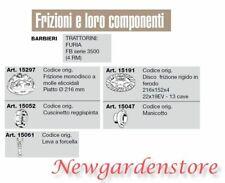 Frizione disco manicotto leva cuscinetto trattorino FURIA serie 35004RM BARBIERI