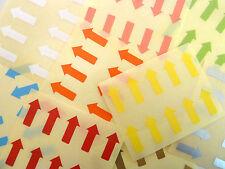20x10mm Flechas extraíble bajo Tack Color Código pegatinas Color Etiquetas Autoadhesivas