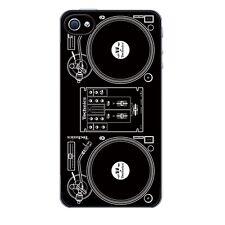 Technics Dj giradiscos teléfono móvil cubierta del iPhone 4 / 5 / 6 / 6 +