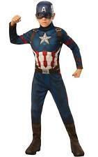 Captain America Engame Avengers 4Marvel DC comics Fancy Dress Boys Costume